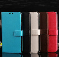 Wholesale Iphone plus Flip PU Leather Case Cover with Credit Card Stand Holder for Iphone s C Samsung Galaxy S4 S5 Note Sony Z2 M2