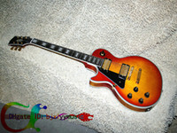 Wholesale Great Left Handed Guitar Les Custom Shop Cherry burst Left hand Electric Guitar