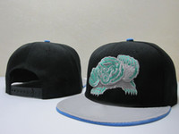 Wholesale Memphis Grizzlie Snapback Caps Adjustable Basketball Snap Back Hats Popular Trukfit Hip Hop Snapbacks Cool Black Players Sports Caps