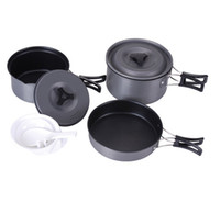 cookware - Fire maple Person Cooking Pot Camping Cookware Sets Non Stick Cookware FMC
