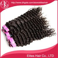 Wholesale Brazilian Hair Extension Deep Wave Curly quot quot DHL human hair weave double hair weft brazilian virgin hair BH505