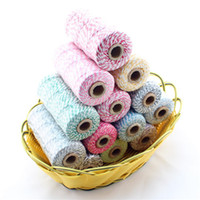 Wholesale 80 Cotton Bakers Twine Colors Option Ply Cotton Twine