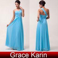 Grace Karin 2014 New GK Stock One Shoulder Evening Dresses B...