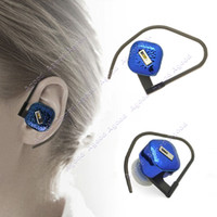 Wholesale Smallest Bluetooth Headphone mini Headset For iPhone Samsung Motorola HTC Cell Phone Blue