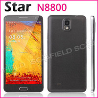 Wholesale Star N8800 Kingelon inch IPS Note N9000 MTK6592 Octa Core Android Cell Phone G RAM G ROM MP G GPS Air Gesture Android