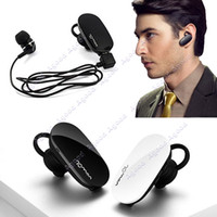 Wholesale Black Mini Stereo Wireless Bluetooth Headset Anti Radiation Call Hands Free Earphone