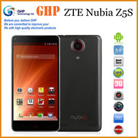 "ZTE 5.0 Android ZTE Nubia Z5S 3G Quad Core Snapdragon MSM8974 2.3GHz Android 4.2 5"" IPS 443PPI 1080P 2GB RAM 13.0MP Dual Camera WCDMA+EVDO Phone"