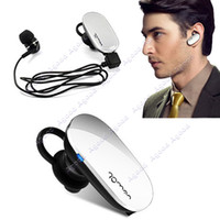 Wholesale White Mini Stereo Wireless Bluetooth Headset Anti Radiation Call Hands Free Earphone