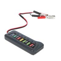 car tester - Tirol V Car Digital Battery Alternator Tester with LED Lights Display Indicates Condition Diagnostic Tool K1027