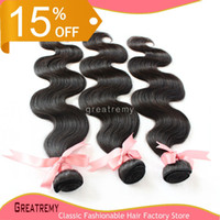 Dyeable Hair Extensions 100% Brazilian Unprocessed Virgin Hu...