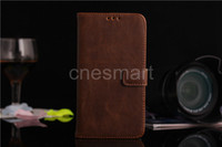 New arrival galaxy S5 wallet case, genuine leatherCase Cover ...
