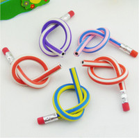 Wholesale Bendable Pencil Soft Pen With Eraser Fun Gifts Pencils Kids Prize Children s Toys cm