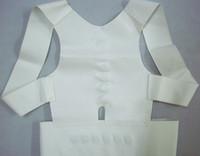 Back   Magnetic Posture Support Corrector Back Corrector Strap Pain Feel Belt Brace Shoulder by DHL 180pcs lot