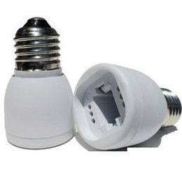 10pcs Led Lamp Bases G24 Slot,E27 to G24 Base Adapter Converter Base holder socket for LED Light M246