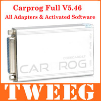 Wholesale V5 Carprog Full With Softwares Activated And All Adapters V5 Repair V4 V4 Tool Radios Odometer Dashboards Immobilizer