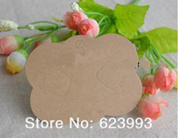 Other accessories cardboard - display blank card for hairs bows Jewelry bow hair accessory hair clip bow packaging