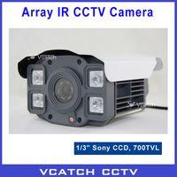 Wholesale CCTV quot Sony CCD TVL WDR Array LEDs Waterproof IR Day Night m Indoor Outdoor Surveillance CCTV Camera