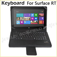 Wholesale BlueTooth Keyboard Case Touchpad for Microsoft Surface RT Pro For Windows Tab