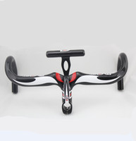 Wholesale NEW MOST Integrated Full Carbon Fiber Road Bicycle Drop Handlebar Carbon Bike Bent Handlebar