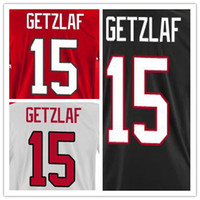 Fitness shoes Men USB Newest Team 15 Ryan Getzlaf Canada Jersey Red Customize 100% Sewn Quality Black 2014 Ryan Getzlaf Jersey Olympic White