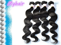 Wholesale Factory Supply high quality A Grade Body Wave Indian Hair Human hair DHL