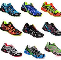 Wholesale New Salomon Speedcross Men Athletic Running Shoes Solomon Tenis Designer Zapatillas Hombres De Correr Shoes