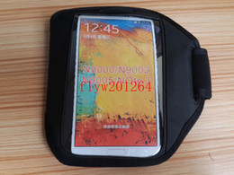 DHL Fedex Free shipping Sports Armband case For Samsung Galaxy Note 3 note3 N9000 ,MIN 100pcs lot