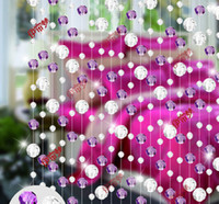 Wholesale Glass crystal bead curtain finished curtain curtain curtain off the entrance face beads section