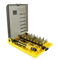 Wholesale 45 in Precision Professional Screwdriver Repair Kit Tool Set for PC Laptop Cellphone MP3
