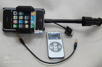 Wholesale ALLKIT All in1 FM Transmitter Hands Free Holder Charger for iphone G S GS G IPod