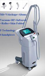 Wholesale CE certificate Top quality Body Shaping Slimming Machine V8 Vacuum RF Roller nm laser Skin Folded M6 Velashape Aluma Salon Use