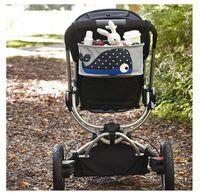 Wholesale 2014 New Diaper Bag Mummy Bags carts Blue whales Baby Diaper bags Handbag DZY744H