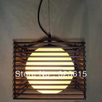 Modern 12v LED Square Birdcage chandelier bedroom lamp with modern fashion creative restaurant lighting DIA 22 cm