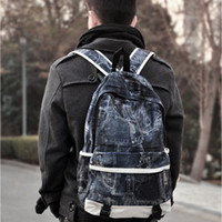 Wholesale Vintage fashion style women and men unisex middle school students school bags laptop travel backpacks bags