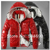 Down Coats Men Down Winter Jacket Coat Men Down Jackets XS S M L XL XXL Fashion Black Red Ski Jacket Men Down Parkas Overcoat Brand Man Down Coats