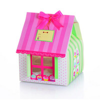 Wholesale PVC window Four Cupcake boxes Cake boxes New design Arrival