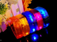 Wholesale Christmas LED bracelet voice control LED bracelet bracelet with the music