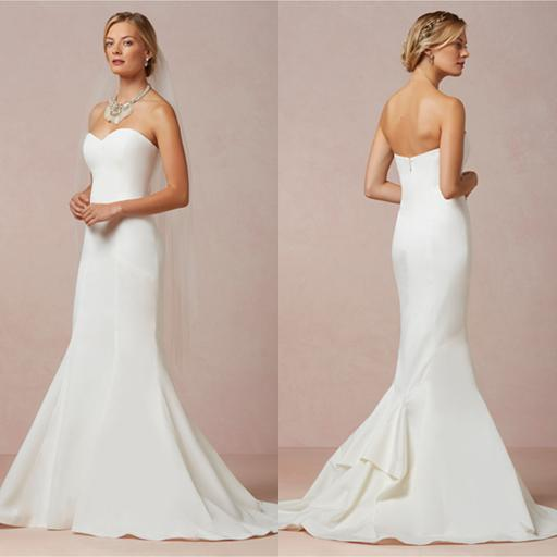 Simple form fitting wedding dresses wedding dresses dressesss for Simple form fitting wedding dresses