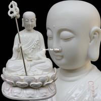 Wholesale Special discount shipping inch Earth Store Bodhisattva Buddha statues seated Dehua porcelain pottery