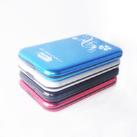 Wholesale USB Colors Black sliver red blue inch SATA HDD Hard Disk Drive External Enclosure Case Support TB