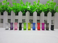 Wholesale 2014 Plastic Drip Tip for Glass Globe Atomizer in Different Colors