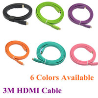 Wholesale High Quality HDMI TO HDMI CABLE CORD M FT Male M M with D amp blue ray already Colors Available