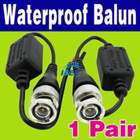Wholesale China Post Pair Waterproof xUTP Network Video Balun CAT5 to