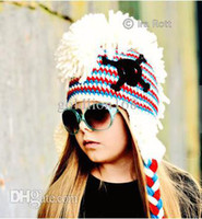 Boy baby girl skull and crossbones - Skull and Crossbones Punk Hat Custom made Kids crochet Beanie Hat Baby Skull Hat