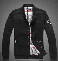 Wholesale New small thin cotton sweater jacket Men diamond lattice