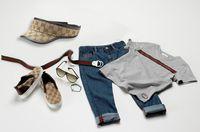 Children Brand Sets Boy's suit summer 4pcs short sleeve Clot...