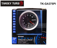 Wholesale Tansky New Design quot new quartz stepping gauge shift light Tachometer RPM for pivot brand high quality TK GA375PI