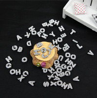 Wholesale 2014 HOT Sale DIY Side Letters With Rhinestone For mm Pet Dog Collars Dog Letters
