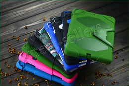 Wholesale 50pcs Top Quality Military Duty Case Stand in Package for iPad Air iPad