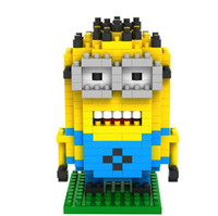 Wholesale Adorable Children Birthday Gifts Despicable Me Bricks Cartoon Film Kids Toys Building Set Child Blocks box boxes D2234